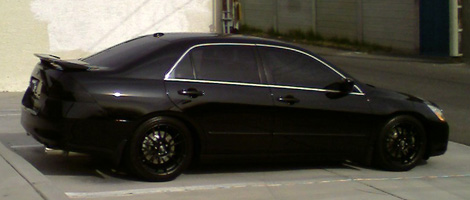 Pics Of A Blacked Out Gen Sedan Drive Accord Honda Forums